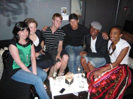 Gail McInnes, Naomi Olsen, Paul K, NAM Model, Kirk (Designer, Greta Constantine), Anita Clarke (BlogTO/I Want I Got)